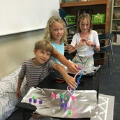 Ms. Magill's students were building and creating!