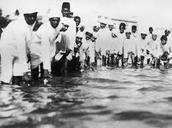 Mohandas Gaandhi's March to the Arabian