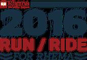 Run/Ride For Rhema Update!
