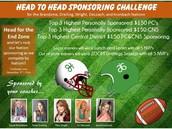 Head to Head Sponsoring Challenge