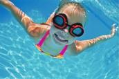 Me gustaba nadar porque esta divertida.