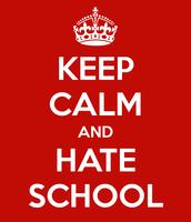 Hate School Sonnet