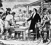 Signing of the Texas Statehood