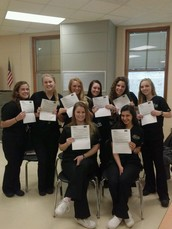 Gators of the Week: 8 RBHS Health Science Clinical Students Pass CNA Exam