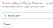Pick your Google Class