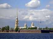 Peter-and-Paul fortress .