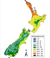 Temperature of NZ