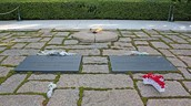 The Kennedy Gravesite and Eternal Flame