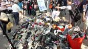 Pila zapatos