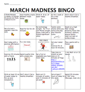 March Madness Bingo Sells Itself!