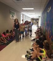 Hallway Expectations with Mrs. Farrow