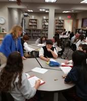 Gr 7 groups in Reading English Language Arts