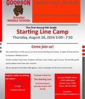 Goodson - Starting Line Camp