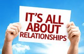 Relationships first....