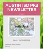 Early Childhood Monthly PK3 Newsletter