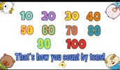 This is how we count by our tens to get to 100