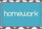 Homework - Will be posted each Monday
