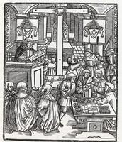Indulgences / Title page woodcut 1518