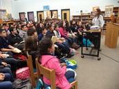 Author Visit:  Diana Lopez