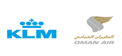 Oman Air has launched a new codeshare agreement with KLM Royal Dutch Airlines