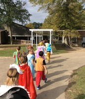 Parading from ELC Preschool to Lower School
