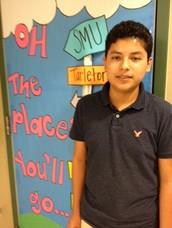 Bernabe Mendoza, 8th Grader