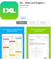 IXL is fun and instructive...