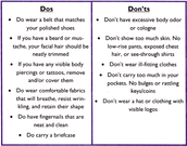 Business Attire Do's & Dont's