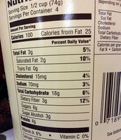 Blue Bell Ice Cream Nutrition Facts