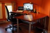 DIY Ergonomic Computer Desk!