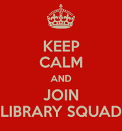 Library Squad off to a great start!