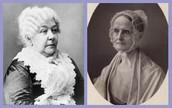 Who are Elizabeth Cady Stanton and Lucretia Mott?