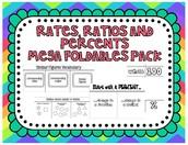 Rates, Ratios, and Percents