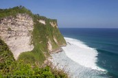 Equally scenic cliffs and beaches.