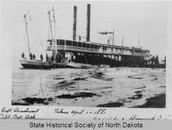 Winona Levee 1870s