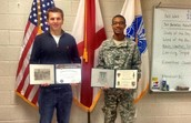 Congrats to West Point Bound Pat & Elijah!