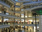 3.  Went to the biggest mall in New York