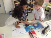 1a - working in small groups and presenting new life cycle knowledge to the class
