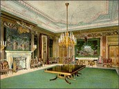 State Dining Room during the Roosevelt administration, 1902.