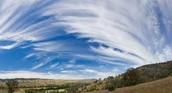 high cirrus clouds