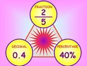 Fraction to percent & decimal