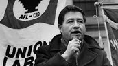 "Cesar Chavez delivers his Speech on ""perils of pesticides"""