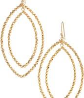 Bardot Hoops gold - $20