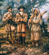 Sacagewea with Lewis and Clark