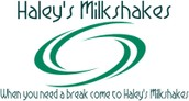 When you need a break come to Haley's Milkshakes!