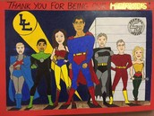 Superheroes for Levelland ISD