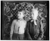 the Wright brothers as children