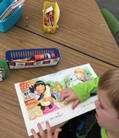 Celebrating a Reader in Mrs. Koontz' Class!!
