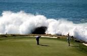 15th hole at Pebble Beach