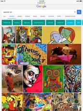 temas en el arte en España